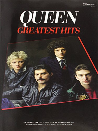 Queen. Greatest Hits: v. 1: Guitar Tab Songbook (Gtab) by Queen (1-Feb-2009) Sheet music