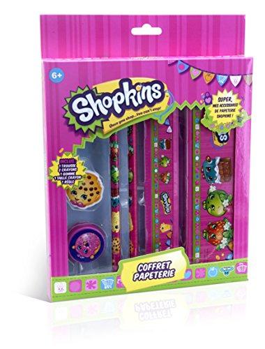 Canal Toys - CT31021 - Shopkins - Coffret de Papeterie