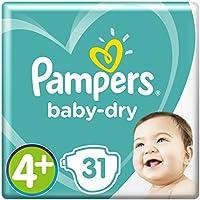 Pampers Baby Dry Gr.4+ Maxi Plus 9-18kg Sparpack