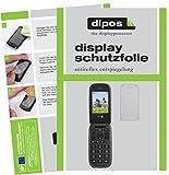 dipos I 2X Schutzfolie matt passend für Doro PhoneEasy 613 Folie Displayschutzfolie