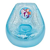 Disney Frozen 289FZO Kids Inflatable Glitter Chill Chair, Blue/White