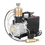 TOPQSC Compressore d'aria elettrico ad alta pressione Auto-Stop 300BAR 30MPA 4500PSI Auto-Stop regol