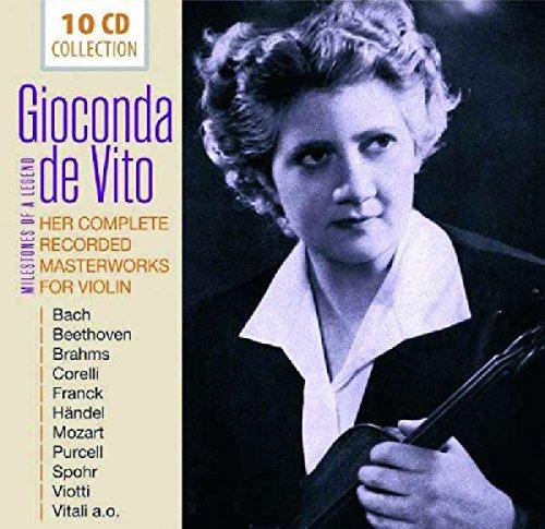 HER RECORDER MASTERWORKS FOR VIOLIN: Gioconda de Vito