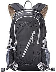 E-PRANCE Multi Sport/Mochilas de Marcha Impermeable Mochila Cacual 30L para Viajes Excursiones Acampad