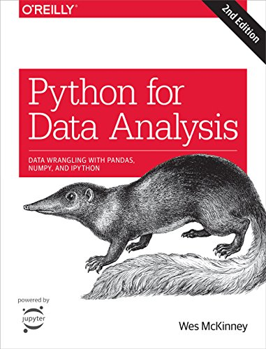 Python for Data Analysis: Data Wrangling with Pandas, NumPy, and IPython (English Edition) por Wes McKinney