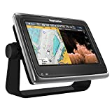 Raymarine e70234-US Serie A A98 WiFi Display multifunzione touch con integrato Down Vision pesce Finder (22,9 cm (9 pollici), C-Map scheda USA laghi, costiere: 20 m) immagine