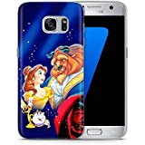 Fan Art Beauty & The Beast Phone Case Gel TPU Cover for Samsung Galaxy S6 (G920) with Screen Protector / EJC Avenue / Stars