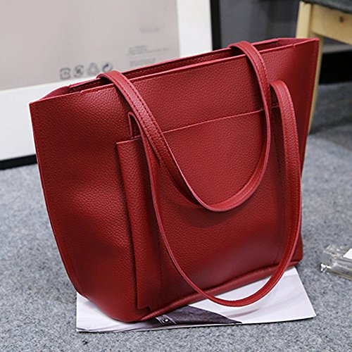 Pengyu Organizer borsa, Grey (grigio) - 776323 Wine Red