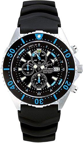 Chris Benz Uhr Taucheruhr Depthmeter Chronograph CB-C300-B-KB