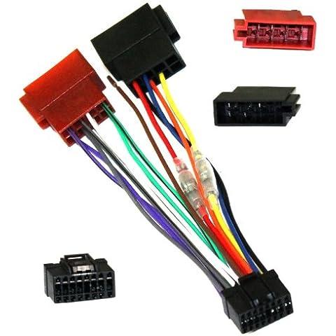 Aerzetix-Adaptador ISO Z5-Cable adaptador conector de cables para radio para Pioneer-C1977
