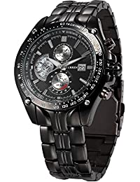 CURREN Expedition Analogue Black Dial Men's Watch - CUR022