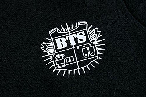 Meyison Damen Kapuzenpullover BTS Hoodie Pullover Jacke Sweatjacke Warm Gefüttent Langärmelige Kapuzenjake Jimin-95