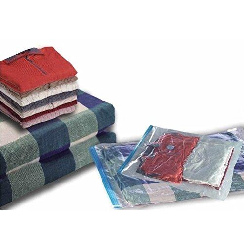 20 Tüten, Packung mit einer Auswahl an Aufbewahrungskleidertüten zum Platzsparen - klein bis groß (6 Größen) Vakuumbeutel Aufbewahrungsbeutel [version:x7.3] by DELIAWINTERFEL