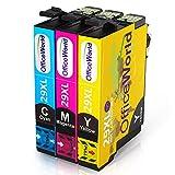 OfficeWorld Ersatz für Epson 29 29XL Farbtintenpatronen Hohe Kapazität Kompatibel mit Epson Expression Home XP-342 XP-345 XP-245 XP-442 XP-445 XP-247 XP-332 XP-235 XP-435 XP-432 XP-335