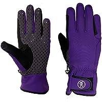 Riders Trend Women's Winter Softshell Equstrian Riding Gloves