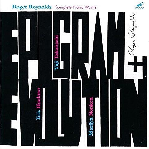 Reynolds : Les oeuvres avec piano. Takahashi, Huebner, Nonken.
