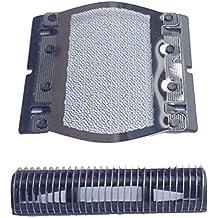 Zhhlinyuan Replace Shaver Foil &Cutters para BRAUNN 350 355 370 375 P10 5614 5615