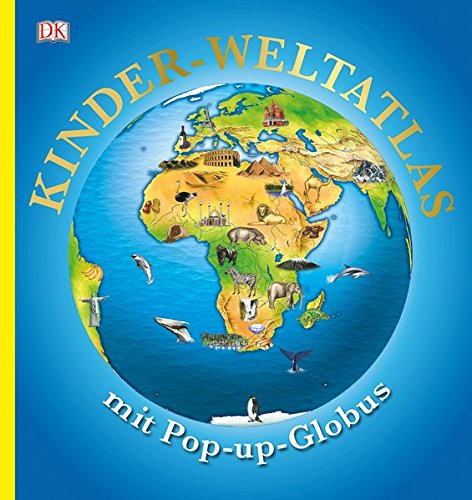 Kinder-Weltatlas mit Pop-up-Globus