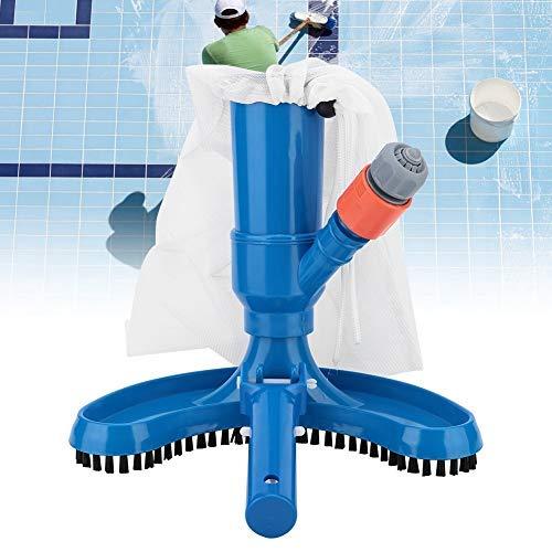 DEWIN Jet Pool Staubsauger - Pool-Reiniger Tragbare Pool Teich-Brunnen Vacuum Bürsten-Reinigungsmittel-Reinigungs-Werkzeug