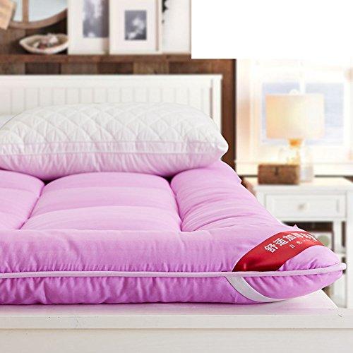 gepolsterte matratze tatami falten matratzen anti-schleudern individuell double matratze student wohnheim mat ist-D 120x200cm(47x79inch)120x200cm(47x79inch) (Baumwoll-polyester-futon-matratze)