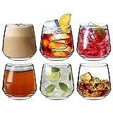 Tallo - Gläser für Wasser / Whisky / Saft - 6 Gläser mit Geschenkverpackung - 345 ml