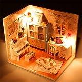 Generic Hoomeda DIY Wood Dollhouse Minia...