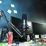 Auna MIC-900B USB Kondensator Mikrofon für Studio-Aufnahmen inkl. Spinne - 3