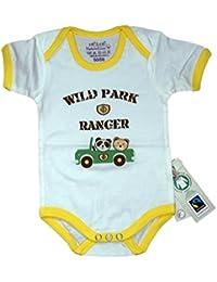 Fairtrade Body Wildpark gelb Bio Baumwolle Gr.74/80