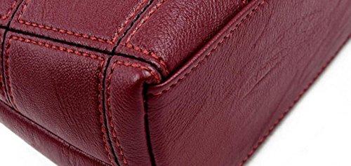 Kurierbeutelhandtaschenart Und Weise Weiche Plaid Kleine Quadratische Paket Einfache Schulterbeutelfreizeitart Und Weise Wildes Temperament Purple