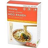 Clearspring Los Fideos Ramen De Miso Japonés Orgánicos Con 170g De Jengibre Sopa De Miso (Paquete de 6)
