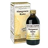 Dr. Giorgini Integratore Alimentare, Manganese Rame Olimentovis Liquido Analcoolico - 200 ml