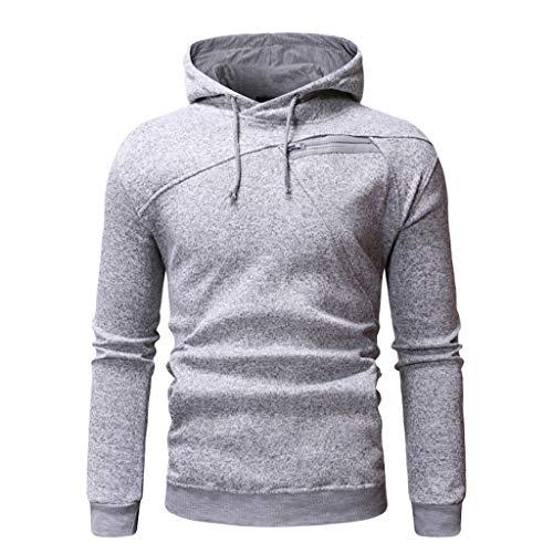 HWTOP Sport Herbst Herrenmode Cardigan Mantel Jacke Basic Langarm Oversize Herren Slim im Freien entworfen Revers Pullover