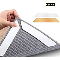 Mojidecor Mat Gripper Rug Anti Slip Mat For Washable Re-usable Non-Slip Rug Thick Luxury Carpet Underlay Tack Easy to Install and Remove Perfect Slip Protection Mat, Pack of 8
