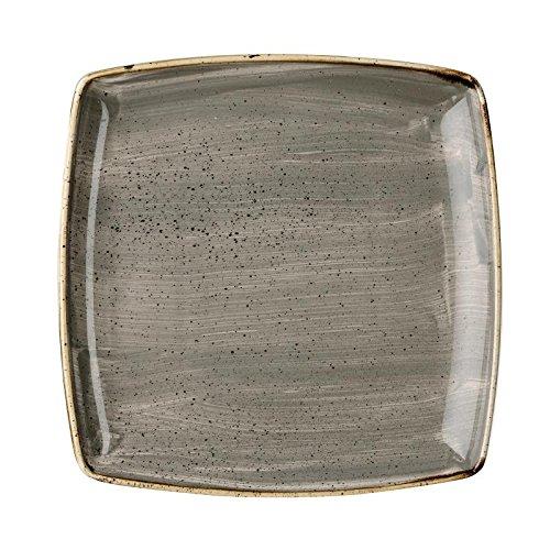 color naranja Churchill 393637 Stonecast porcelana, 28 cm Plato para pasta