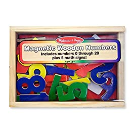 37 pezzi magnetici in legno