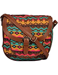 All Things Sundar Womens Sling Bag / Cross Body Bag - S10 - 114B