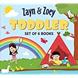 Zayn and Zoey Toddlers Set of 6 Books (Transport, Houses, 5 Senses, Seasons, Water Cycle, Community Helpers) - Educational St