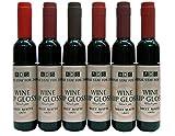 #10: Glamouroui™ ADS Matte Wine Shape Bottle Glossy MultiColor Lipgloss (Set of 6)