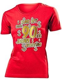 Karnevalskostüm - Faschingskostüm - Halloween - Das ist mein 90er Jahre kostüm T-Shirt Damen S-XXL - Deluxe