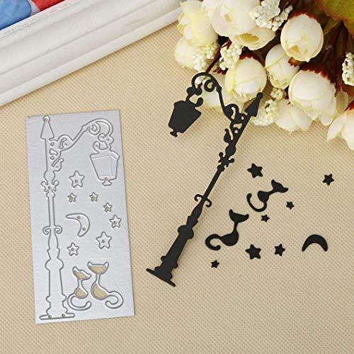 Hausgemachte Halloween Karten - Ogquaton Metallstanzen Stencil Template Mold Frohe