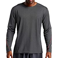 ZIYOU Herren Sport Long Sleeve T-Shirts/Schnell Trocken Regular fit Hemden Pullover/Männer Outwear Muskel Tops