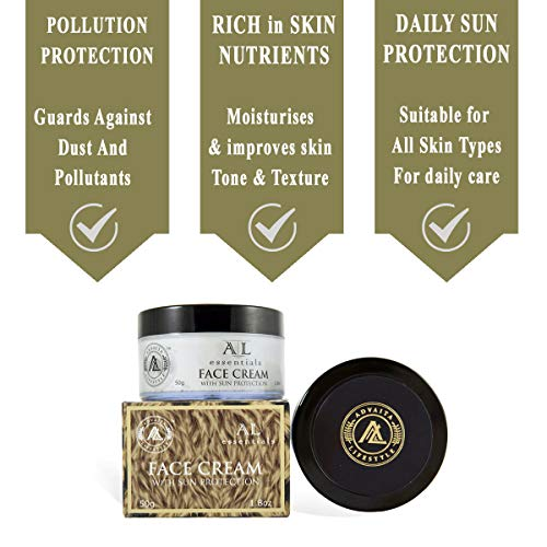 AL essentials - Face Cream - Premium blend of herbal extracts and oils with Daily sun protection- pack of 1