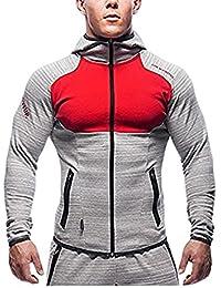 ZEARO Herren beiläufige hoodies fitness trainingsanzüge männer bodybuilding sweatshirt muscle mit kapuze jacken männer