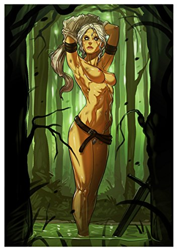 Poster The Witcher III Ciri A3 (42x30 cm)