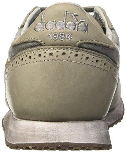 Diadora Unisex-Erwachsene Trident C Dyed Brogue Pumps, Peltro, 42 EU Grigio (Gray Pewter)