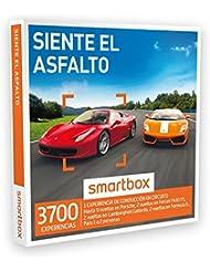 SMARTBOX - Caja Regalo - SIENTE EL ASFALTO - 3700 experiencias de conducción en circuito: Ferrari F430 F1, Porsche, Lamborghini…