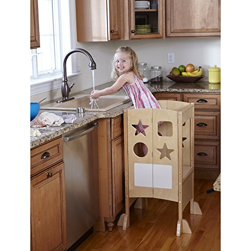 "Opiniones de Guidecraft G97325 Kitchen Helper - Taburete ""Ayudante ..."
