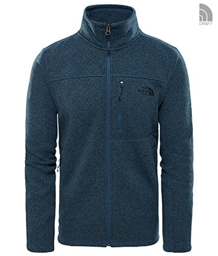 THE NORTH FACE Gordon Lyons Full Zip Jacket Men - Fleecejacke, M,  shady blue heat Shady Ltd