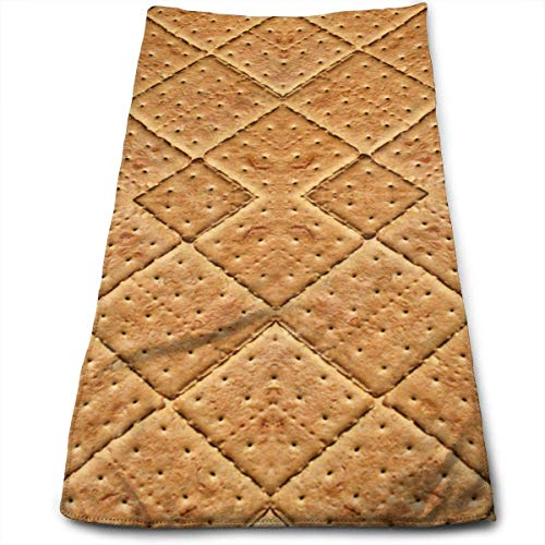 Graham Crackers Giftwrap Bath Towels for Bathroom-Hotel-Spa-Kitchen-Set - Circlet Egyptian Cotton - Highly Absorbent Hotel Quality Towels - Graham Spa