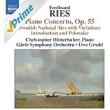 Ries: Piano Concertos, Vol. 2